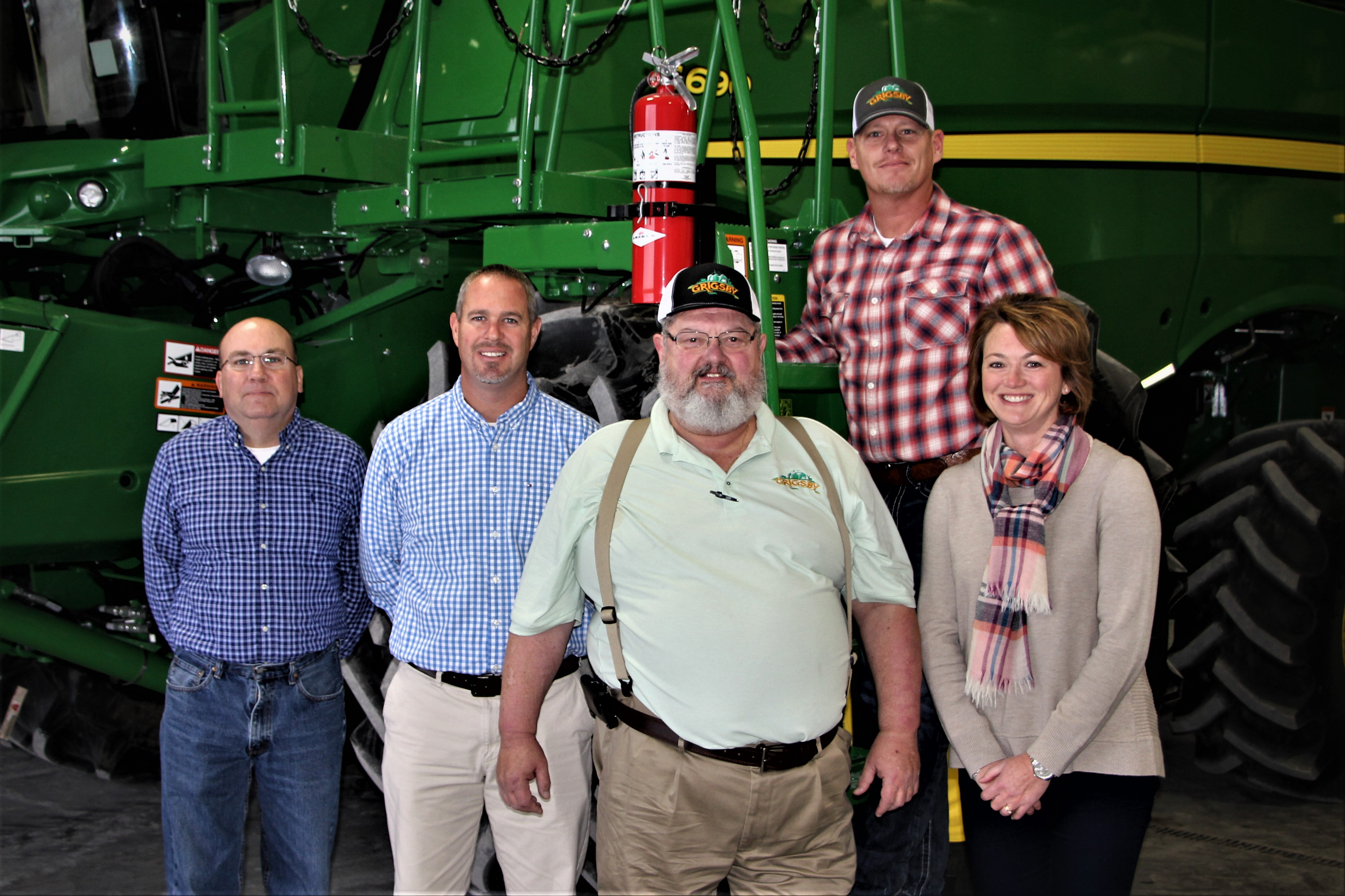 Board of Managers: Andy Roselle, Chad Grigsby, Joel Grigsby, Robby Grigsby and Christy Hale Pound